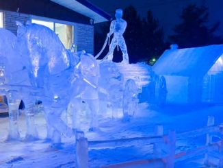 Village de glace à St Côme - Lanaudière - Québec