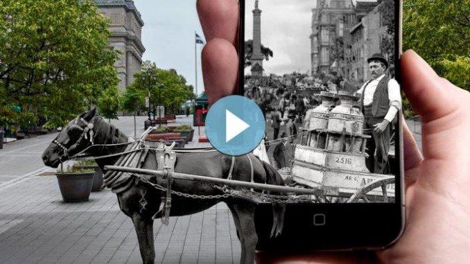 Visite de Montréal avec application mobile